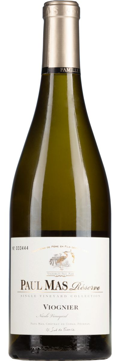 paul mas estate viognier reserve single vineyard collection